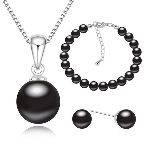 Bild von Dream Pearl Package(Earrings & Necklace & Bracelet)