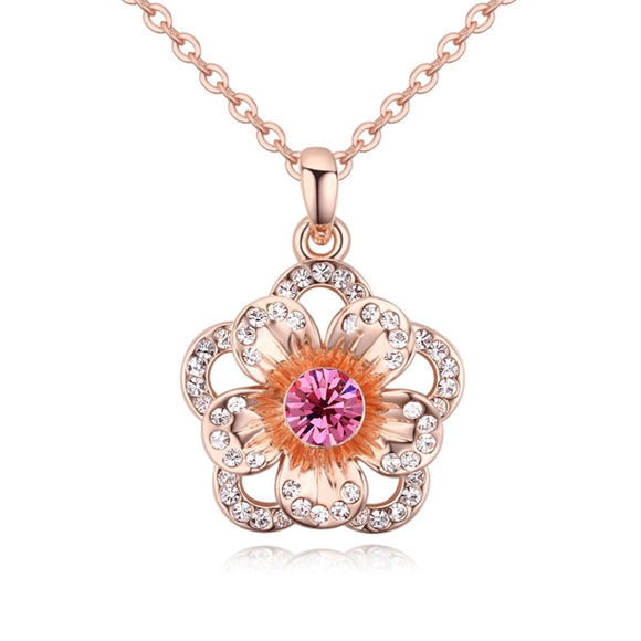 Immagine di Sunset Crystal Necklace
