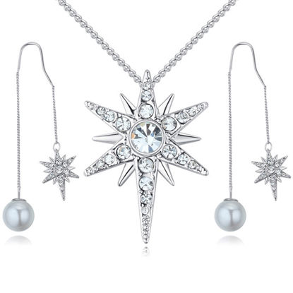 Immagine di Badge of Love Crystal Package(Necklace & Earrings)