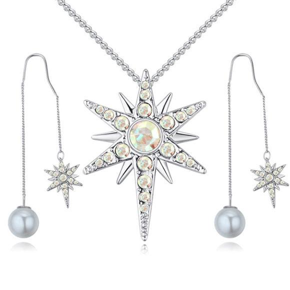 Image de Badge of Love Crystal Package(Necklace & Earrings)