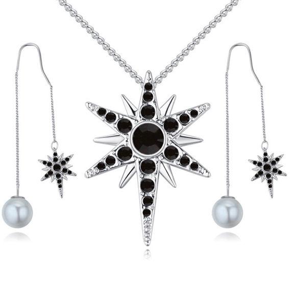 Bild von Badge of Love Crystal Package(Necklace & Earrings)