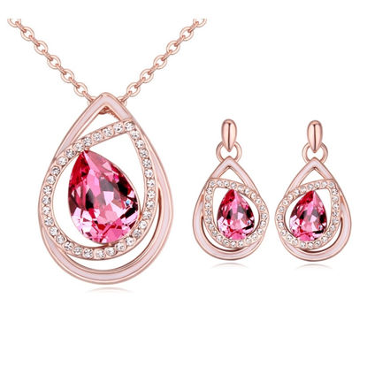 Picture of Dream of Heart Crystal Package(Necklace & Earrings
