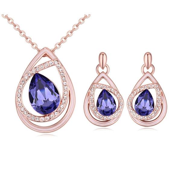 Imagen de Dream of Heart Crystal Package(Necklace & Earrings