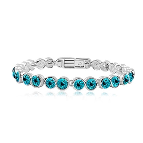 Imagen de Korean Version Anti Allergy Crystal Bracelet