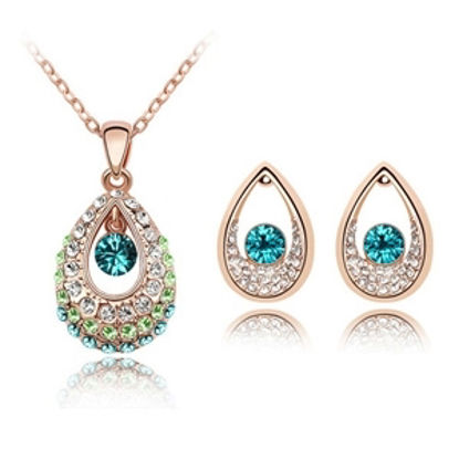 Image de Princess of India Crystal Package(Necklace & Earrings)