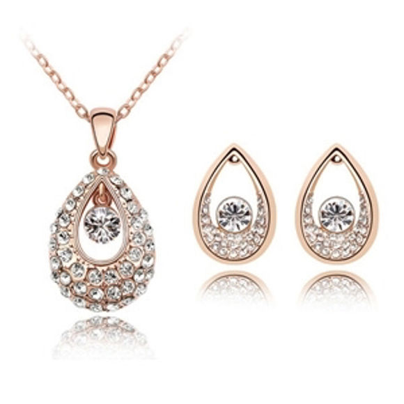 Imagen de Princess of India Crystal Package(Necklace & Earrings)