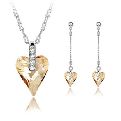 Image de As Wishes Crystal Package(Necklace & Earrings)