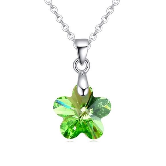 Picture of Crape Myrtle Swarovski Elements Crystal Necklace