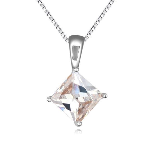 Imagen de Love Signal Zircon Pendant Necklace