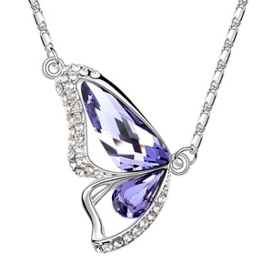 Imagen de Butterfly Princess Swarovski Elements Crystal Necklace