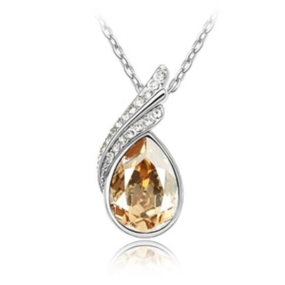 Imagen de Heart of World Swarovski Elements Crystal Necklace