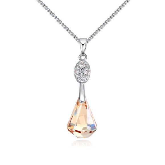 Imagen de Happy Tears Crystal Necklace