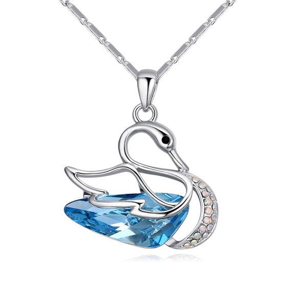 Bild von Fantasy Swan  Crystal Necklace