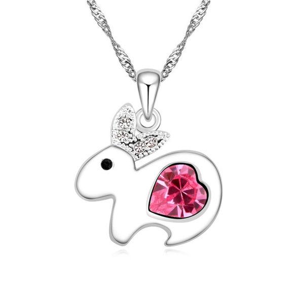 Image de Lovely Rabbit Crystal Necklace