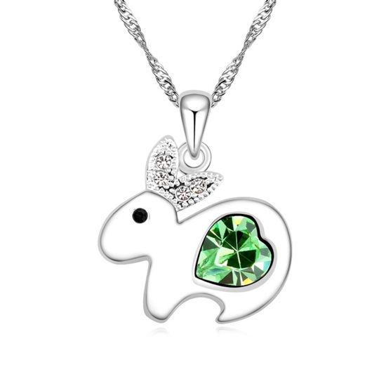 Imagen de Lovely Rabbit Crystal Necklace