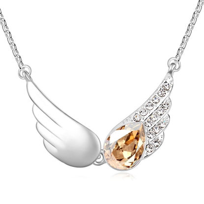 Imagen de Angel Wings Crystal Necklace