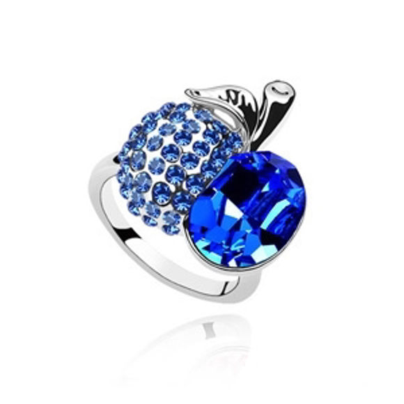 Picture of Crystal Apple Ring