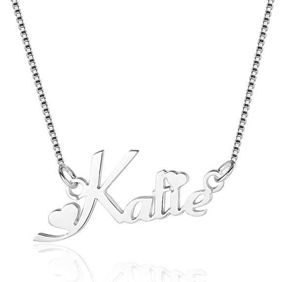 Picture of Customized Name Necklace in 925 Sterling Silver