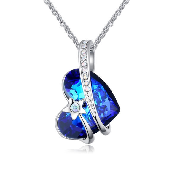 Picture of Shining Star Crystal Necklace With Swarovski Elements