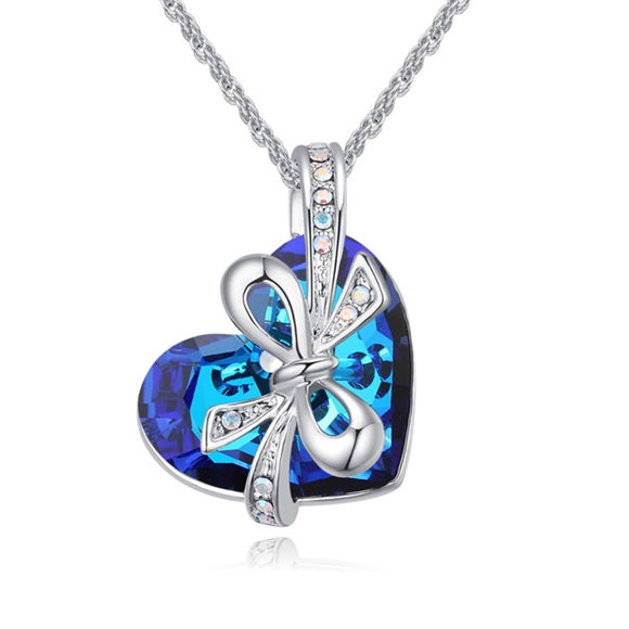 Bild von Dream Butterfly Necklace With Swarovski Elements