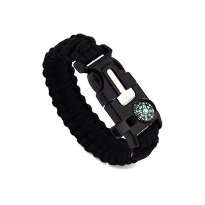 Bild von EK Outdoor Survival Compass 5-in-One Escape Bracelet