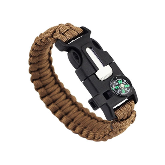 Imagen de EK Outdoor Survival Compass 5-in-One Escape Bracelet