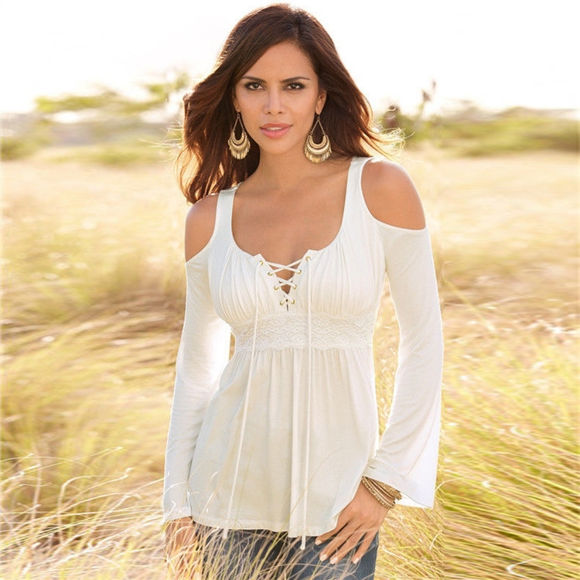 Picture of Long Sleeve Strapless One-Fit-All Top