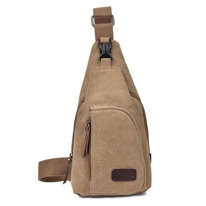 Bild von Multi-functional Outdoor Canvas Messenger Bag