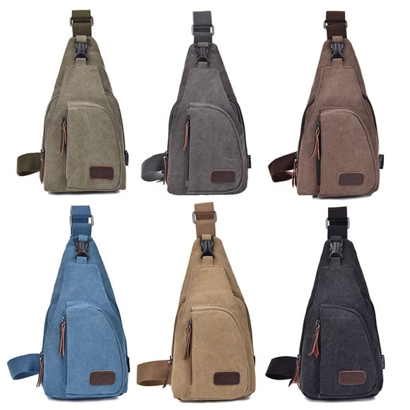 Bild von Multi-functional Outdoor Canvas Messenger Bag