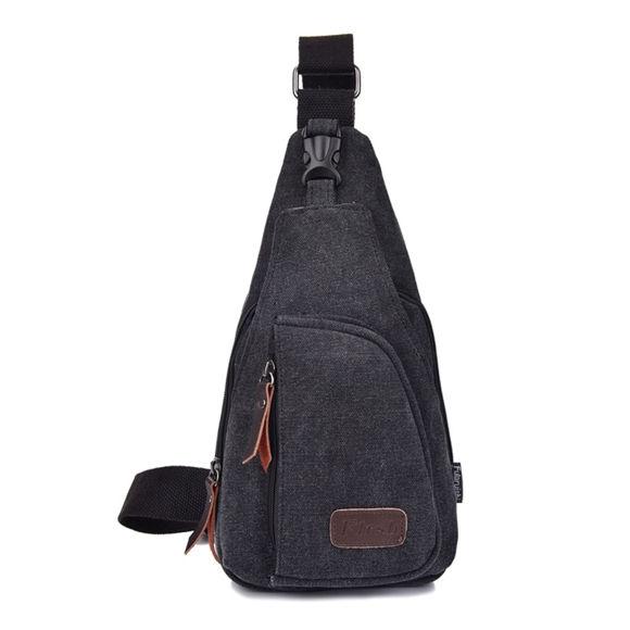 Image de Multi-functional Outdoor Canvas Messenger Bag