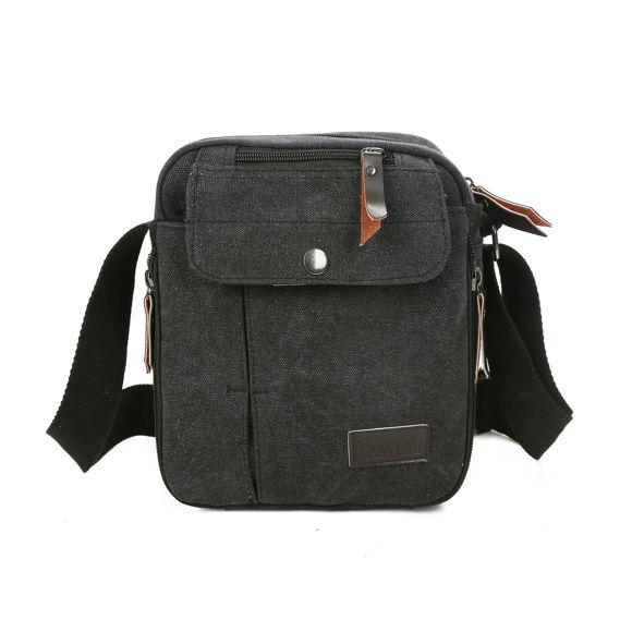 Imagen de Multi-functional Outdoor Canvas Traveling Bag