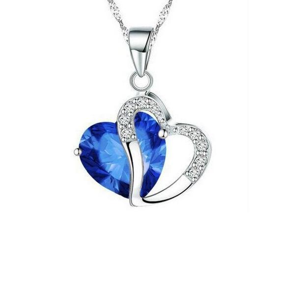 Imagen de Heart-shaped Zircon Crystal Necklace