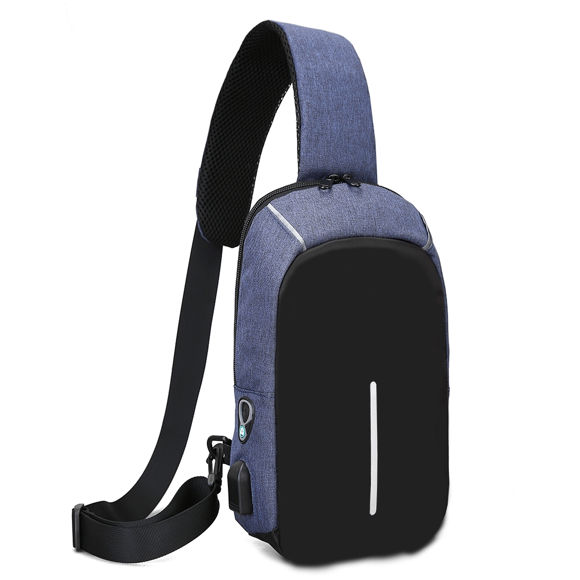 Bild von Multi-functional Anti-Theft Cross Body Backpack with USB Charging Port