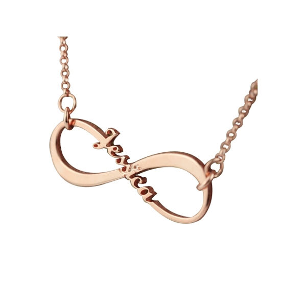 Imagen de Personalized Single Name Infinity Necklace