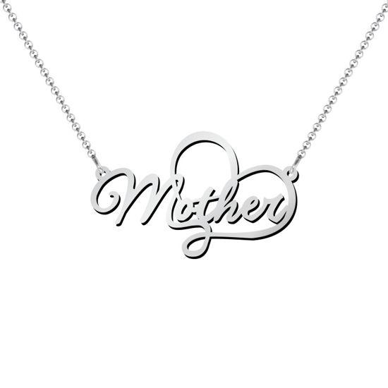 Imagen de Collar con dije de madre en plata de ley 925