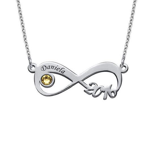 Imagen de Graduation Class Necklace - Infinity Design