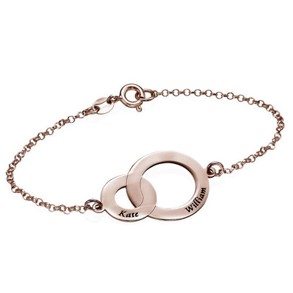 Picture of 925 Sterling Silver Interlocking Circles Bracelet