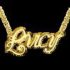Imagen de Collar con nombre personalizado en plata de ley 925