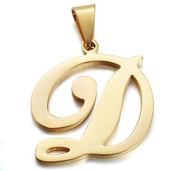 Immagine di Collana con ciondolo lettere iniziali dalla A alla Z.