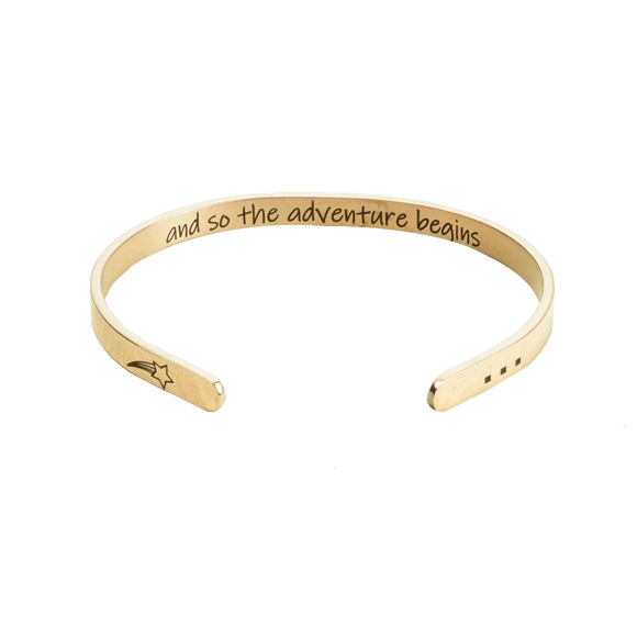 "Picture of Multicolor Carbon Steel Bracelet in ""Fun Sayings"""