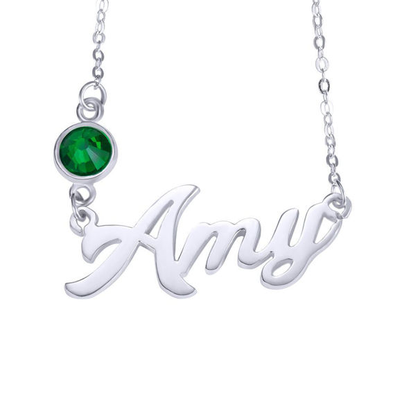 Picture of Personalized Name Necklace Pendant