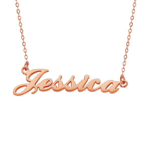 Picture of Personalized  Name Necklace in 925 Sterling Silver