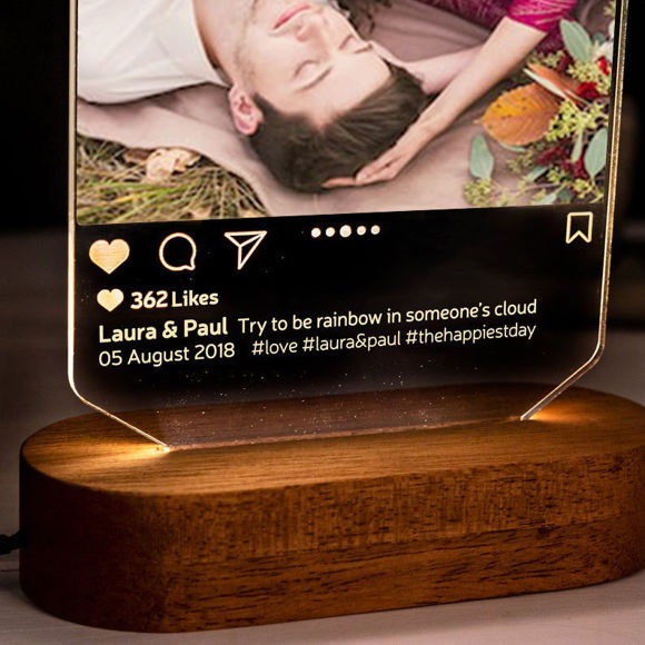Picture of Personalized Instagram Style 3D Led Night Lamp