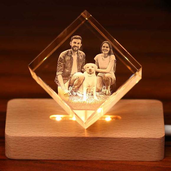 Imagen de EsES regalo de cristal láser de diamante 3D