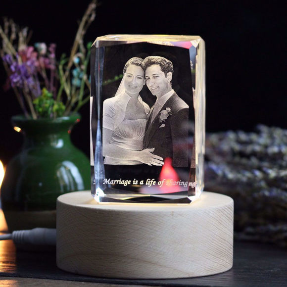 Imagen de 3D laser Crystal Shopping
