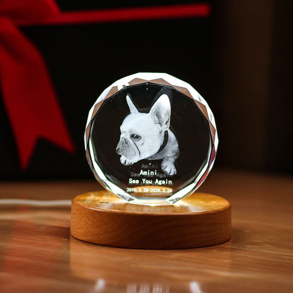Picture of 3D Laser Crystal Gift in Sphere