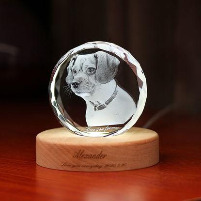 Immagine di Regalo di cristallo laser 3D in sfera