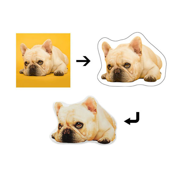 Picture of Custom 3D Pet Pillow - Personalize With Your Lovely Pet