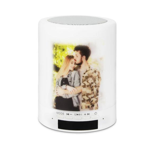 Image de Lumière audio Bluetooth personnalisée avec photo et texte