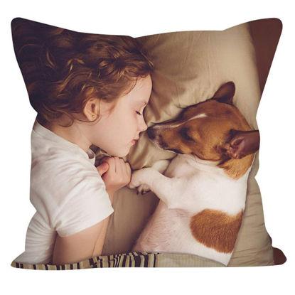 Immagine di Cuscino per foto personalizzato - Progetta con la tua bella foto